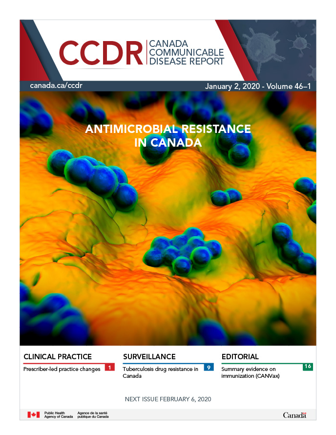 Latest issue: Volume 46–1, January 2, 2020: Antimicrobial resistance (AMR)
