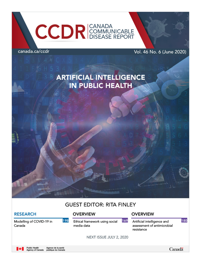 Volume 46–6, June 4, 2020: Artificial intelligence in public health